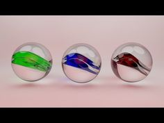 Cinema 4D Tutorial - How to Create glass material in Cinema 4D - YouTube