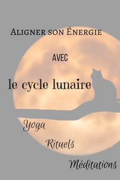 Ideas on how to use the energy of the 🌓🌒 🌔 Moon 🌓🌒 to carry out projects or develop qualities. A small introspection exercise and a yoga posture are presented each evening of the lunar cycle🌕 💫 Yoga Meditation, Yoga Kundalini, Yoga Flow, Zen Yoga, Yoga Fitness, Fitness Quotes, Funny Fitness, Fitness Gear, Fitness Tips