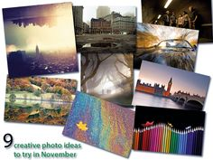 9 creative photo ideas to try in November. jmeyer   01/11/2013. http://www.digitalcameraworld.com/2013/11/01/9-creative-photo-ideas-to-try-in-november-2013/
