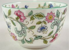MINTON BONE CHINA TEA CUP & SAUCER HADDON HALL 1ST eBay