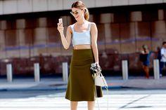 2015紐約時裝Streetsnap