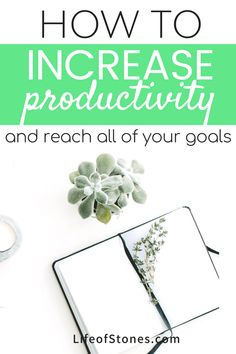 The very best way to be productive and achieve your goals Productivity tips to help you stay focused and reach your goals! These productivity hacks helped me set goals and use this awesome system to help me achieve all my goals! Productivity Quotes, Increase Productivity, Work Productivity, How To Stop Procrastinating, Time Management Tips, Achieve Your Goals, Setting Goals, Self Development, Personal Development