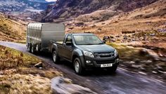 Isuzu UK has announced that the towing capacity of the new D-Max has been increased by 500 kg – adding to its already impressive list of credentials. Isuzu D Max, Dream Cars, Trucks, Vehicles, Truck, Car, Vehicle, Tools