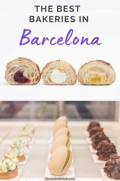 Discover the TOP 5 Barcelona bakeries! Mascarpone-filled croissants, vegan sandwiches, baked from scratch bread, and pastries almost too beautiful to eat, these spots are worth every calorie. Visit one of all five of the best bakeries in Barcelona. #barcelona #spain #bakeries #barcelonabakeries #croissants Travel Advice, Travel Tips, Good Bakery, Spain Travel Guide, Vegan Sandwiches, European Tour, Food Journal, Top Destinations, Best Dishes