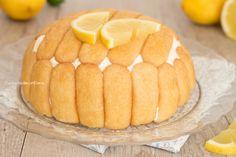 zuccotto al limone intero
