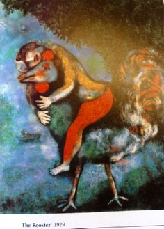 Marc Chagall, The Rooster