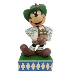 Greetings From Germany-Mickey Mouse In Germany Figurine Jim Shore Disney Traditions