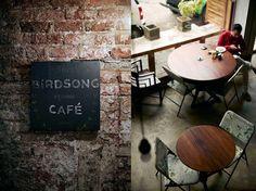 Birdsong Cafe in Mumbai I Remodelista