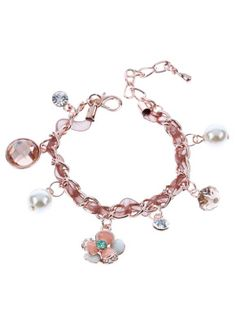 To celebrate the New Year, buy any item from vogueplaza.com, you will get this bracelet for free. Go and check out! http://www.vogueplaza.com/rose-gold-gp-floret-petals-crystal-adorned-pendants-chain-bracelet.html