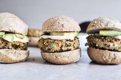 Crispy Quinoa Sliders | How Sweet It Is