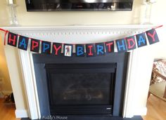 Spiderman Birthday Banner - Puddy's House 4th Birthday Parties, Happy Birthday Banners, 3rd Birthday, Birthday Ideas, Spiderman Birthday Cake, Birthdays, Crafty, Party Ideas, Kid Stuff