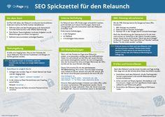 SEO Spickzettel für Deinen Website Relaunch - by OnPage.org