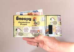 SNOOPY PEANUTS Portemonnaie von PauwPauw auf Etsy