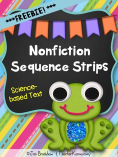 Nonfiction Sequence Strips ~ This reading activity may be used as a literacy center / station, small group instruction, individual practice, or intervention / RTI group Reading Centers, Reading Workshop, Reading Skills, Literacy Centers, Sequencing Activities, Reading Activities, Teaching Reading, Sequencing Events, Nonfiction Activities