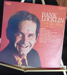 Hank Locklin Lp That's How Much I Love You Near Mint #AlternativeCountryAmericanaContemporaryCountryEarlyCountryNashvilleSoundTraditionalCountry