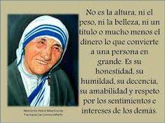 Poemas Y Pensamientos Para Hijos Palabras De Madre Teresa De