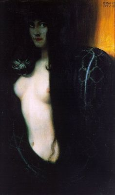 Sin - Franz Von Stuck 1893 Oh, oh, I LOVE this painting! Been one of my favourites for a long time.