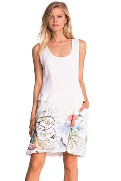 desigual dress this would be really cute with capri. Black Bedroom Furniture Sets. Home Design Ideas