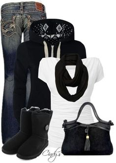 fashion, snow, Cheap ugg boots outfit