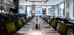 The brasserie bar 3 South Place at South Place Hotel - a Tablet #hotel #london