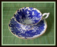 Vintage Coalport Bone China Teacup and by merrilyverilyvintage