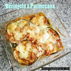 Beringela à Parmesana #receita #dieta #light #regime #fitness #saudável