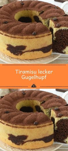 Tiramisu delicious Gugelhupf – the kitchen – Patisserie Chocolate Desserts, Vegan Desserts, Easy Desserts, Stuffing Recipes For Thanksgiving, Thanksgiving Desserts Easy, Easy Pumpkin Pie, Pumpkin Dessert, Easy Cheesecake Recipes, Dessert Recipes