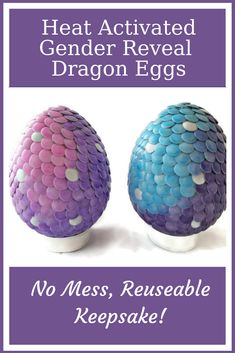 Risen Son Creations Color Changing Dragon Eggs Gender Reveal Risensoncreations Profile Pinterest
