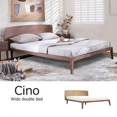 ワイドダブルベッド 《マットレス付属》 / Cino #bed