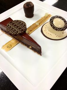 "Lucien Gautier's ""Tarte au Chocolat""?  (Four Seasons Hotel George V Paris)"