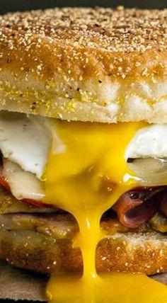 Cubano Breakfast Sandwich
