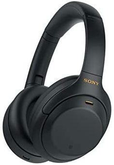 Amazon.com: Sony WH-1000XM4 Wireless Industry Leading Noise Canceling Overhead Headphones with Mic for Phone-Call and Alexa Voice Control, Black: Electronics Wireless Noise Cancelling Headphones, Best Headphones, Over Ear Headphones, Music Headphones, Sony, Style Noir, Alexa Voice, Headphone With Mic, Gaming Headset