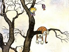 Bill Waterson <3 Calvin Y Hobbes, Calvin And Hobbes Quotes, Calvin And Hobbes Wallpaper, Dual Screen Wallpaper, Artist Alley, Widescreen Wallpaper, Cartoon Network Adventure Time, Fun Comics, Illustrations