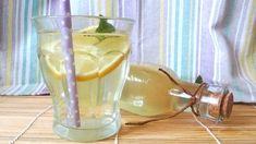 bodzaszörp édesítővel Hurricane Glass, Wine Decanter, Cukor, Barware, Glass Vase, Drinks, Tableware, Recipes, Drinking