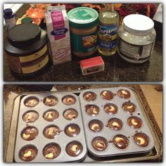 Nicole's fat bombs: I melted about 3/4 cup of coconut oil and peanut butter with 1 stick of butter in microwave then mixed in 5 spoons of cocoa powder and 3 caps of sugar free vanilla syrup with 1/2 cup of whipping cream. I placed 1 cashew in each cup and placed in freezer for 30 minutes to harden up.