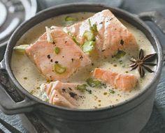Une blanquette de saumon en un rien de temps, c'est possible : vite, la recette !
