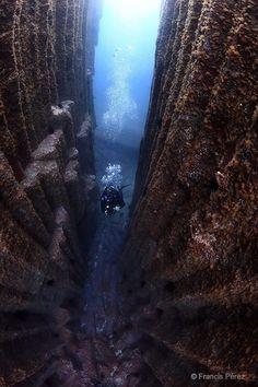 Basalt-Kathedrale vor Teneriffa