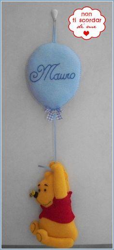 Annuncio Nascita: Winnie the Pooh, by Non ti scordar di me ♥, 25,00 € su misshobby.com