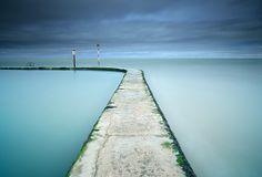 Tidal Pool at Margate in Kent_ UK