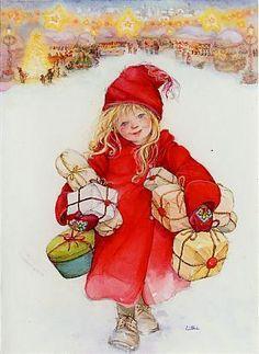 Sueños de niña: Niñas en Navidad,Lisi Martin