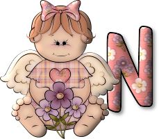 CH B *✿*  ALPHABET ANGEL Snoopy, English Alphabet, Letter D, Crafts To Make, Bowser, Creations, Fairy, Handmade, Style