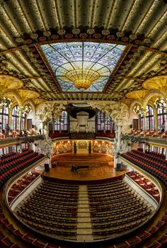 Palace of Catalan Music . Barcelona