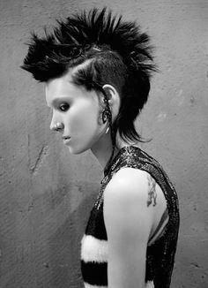 Rooney Mara in The Girl with the Dragon Tattoo.