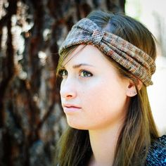 knit head wrap pattern | Bohemian Cinch Head Wrap by mclaughlin174280 | Knitting Ideas