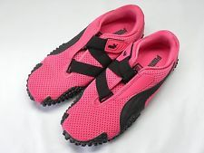 Women's PUMA Mostro Hot Pink Mesh & Velcro Athletic Sneakers Size 10