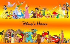 Walt Disney Heroes Characters