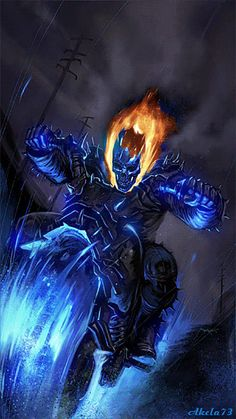 Ghost Rider Spirit of Vengeance by Akela 73 Marvel Marvel Fanart, Marvel Vs, Marvel Dc Comics, Marvel Heroes, Captain Marvel, Marvel Characters, Ghost Rider Wallpaper, Marvel Wallpaper, Comic Books Art