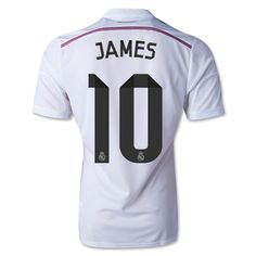 JAMES de Camiseta Del Real Madrid Primera 2014/2015
