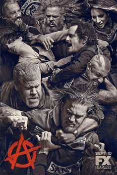 Son's of Anarchy - my favorite bad boys and girls, can't wait for season 6 to start!