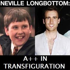 Neville Longbottom, A++ in Transfiguration